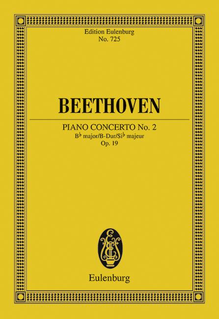 Piano concerto no.2 in B flat Major op.19 image